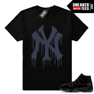 Air Jordan 11 sneaker match tees