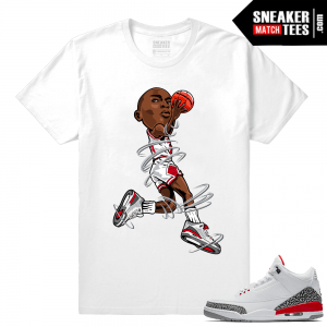 Air Jordan 3 Katrina Shirt Match