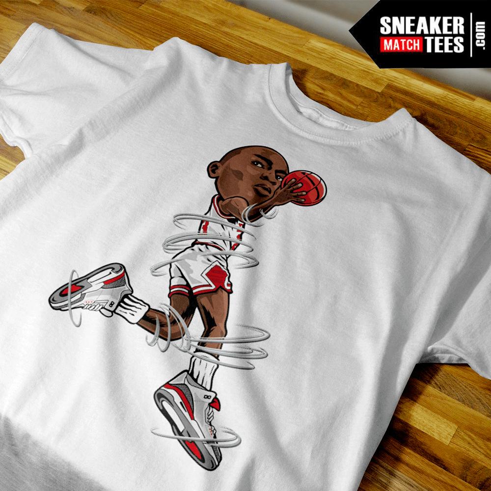9486157f099e Air Jordan 3 Katrina Shirt Match - Sneaker Match Tees