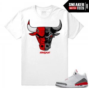 Air Jordan 3 Katrina Shirts to match Jordans