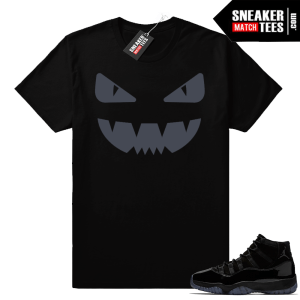 Jordan 11 Cap and Gown Designer Monster Shirt