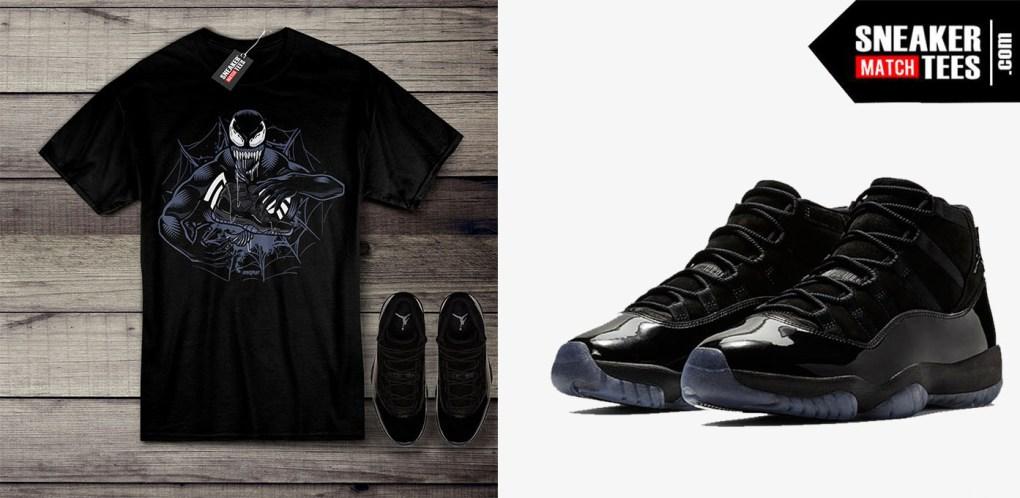 Jordan 11 Cap and Gown Shirt Releases - Air Jordan 11 Clothing