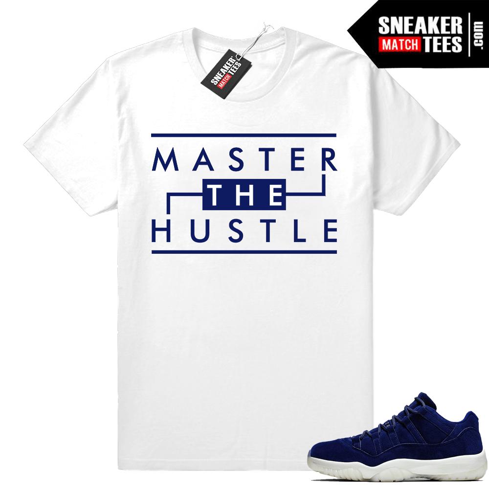 best authentic b0a83 2d318 Jordan 11 Jeter lows shirt • Master the Hustle • White tee