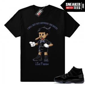 Air Jordan 11 Clothing Tee shirts