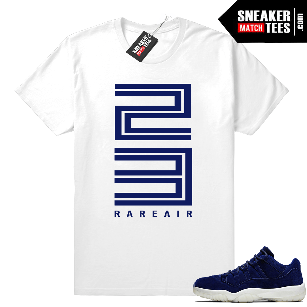 bf56b990068 Jordan 11 low Jeter shirt - Air Jordan 11 Match Apparel