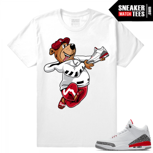 Jordan 3 Hall of Fame Sneaker tees