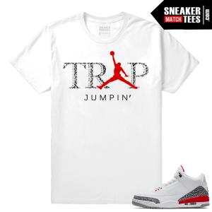 Jordan 3 Katrina Trap Jumpin shirt