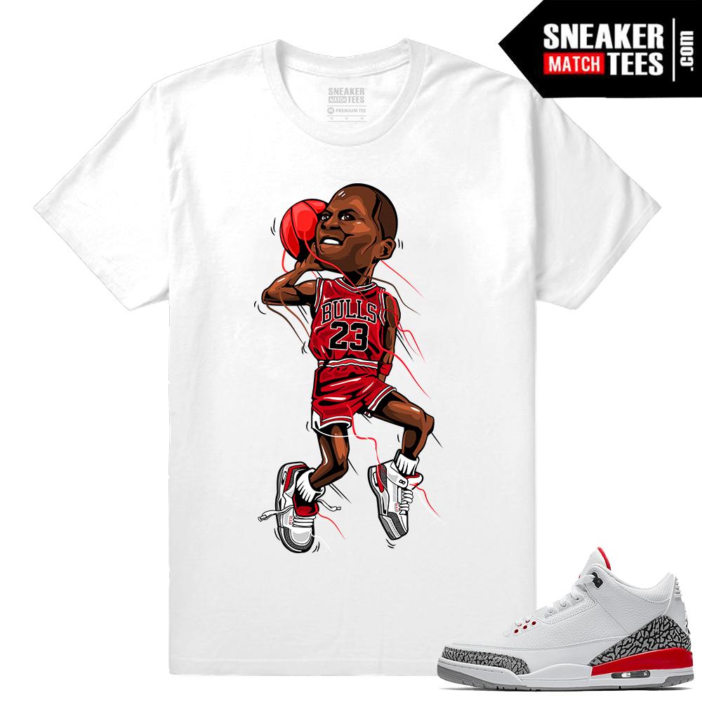 ecc16db1ac45 Jordan 3 Katrina Match Shirt - Sneaker Match Tees