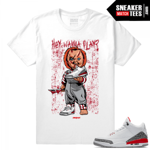 Jordan 3 Katrina Shirt to match Jordans