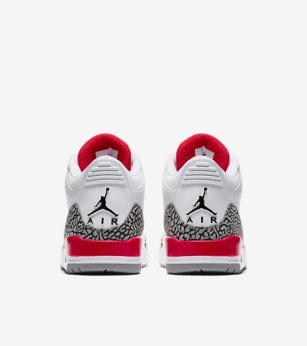 Jordan 3 White Red Katrina