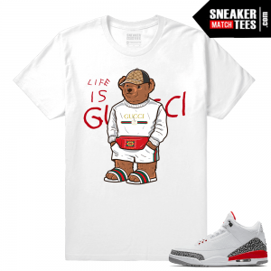 Katrina 3s Shirt Gucci Bear Life Is Gucci