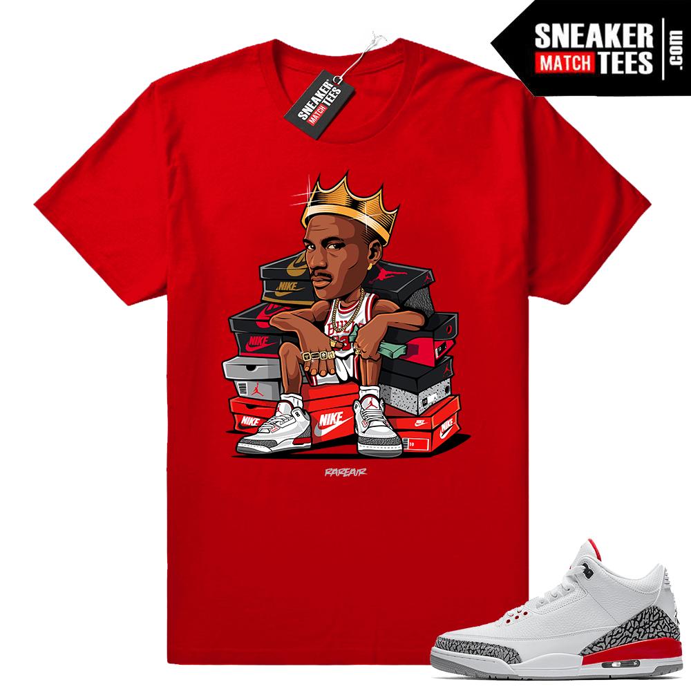 2fac1a9111e5c8 Katrina 3s shirt matching - Jordan 3 Sneakers tees