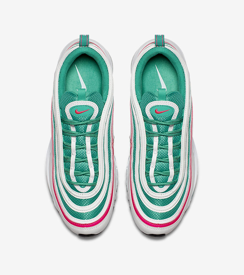 43391ab2e Nike Air Max 97 South Beach Sneaker Match Tees and Outfits