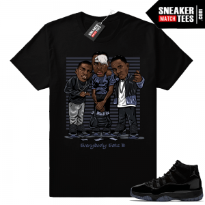 Paid in full shirt match Jordan 11