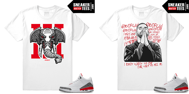 Shirts to match new Jordan 3 Katrina