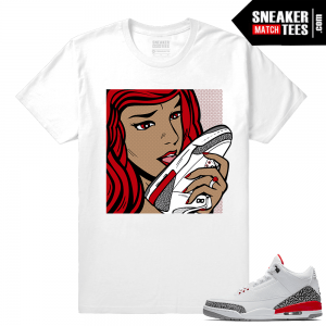 Sneaker tee Jordan 3 Hall of Fame