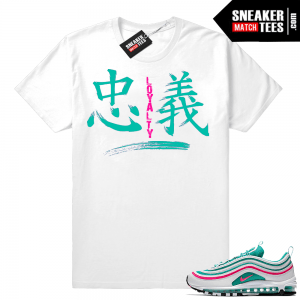 035875421a Nike Air Max 97 South Beach Sneaker Match Tees and Outfits