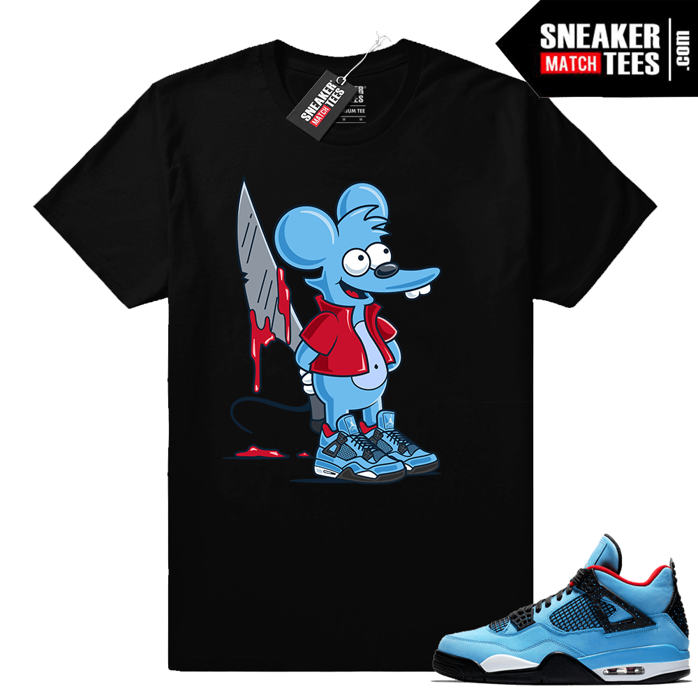 Air Jordan 4 Cactus Jack shirt