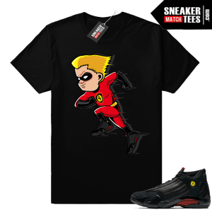 The Incredibles 2 shirt match Last Shot 14 sneakers