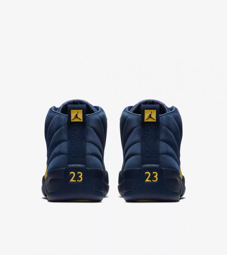 b8e98e06903ae Air Jordan 12 Michigan sneaker match tees release