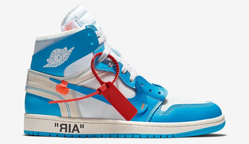 Jordan Release Dates Off White UNC 1