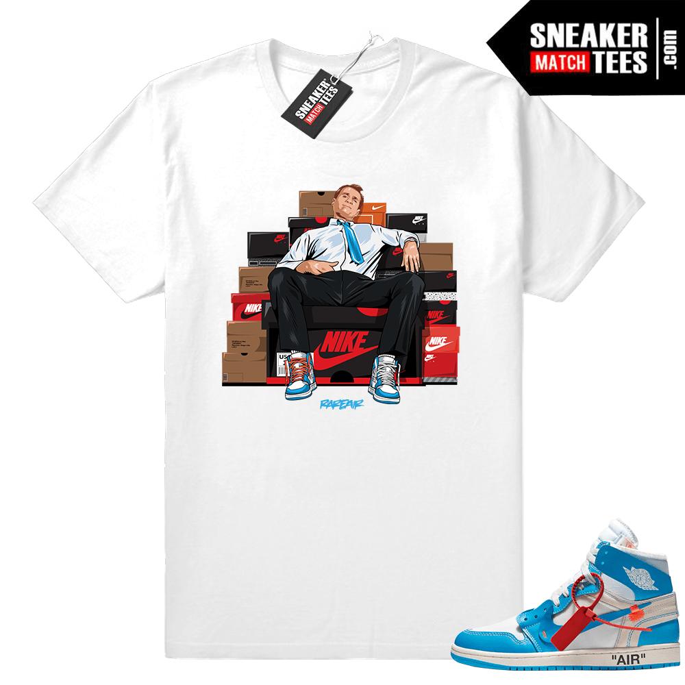 d8b6df4f406321 Off-white Jordan 1 t shirt - Sneaker Match Tees