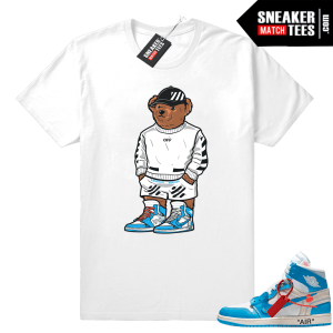 Polo Bear Off-white Jordan 1 Shirt