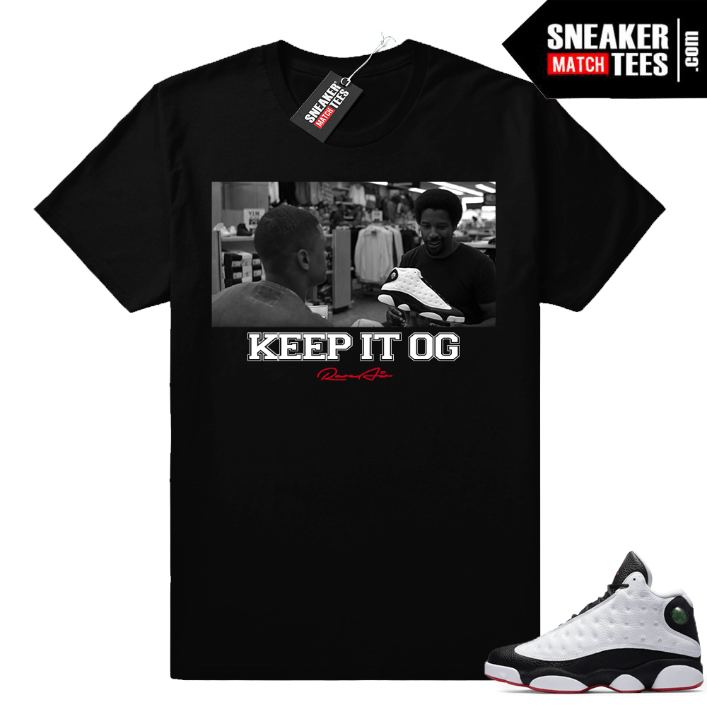Air Jordan 13 He Got Game OG shirt
