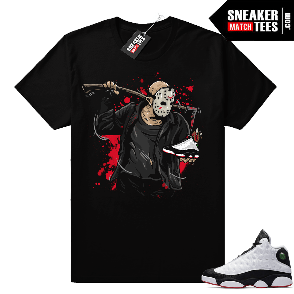 Air Jordan 13 He Got Game Shirt Match