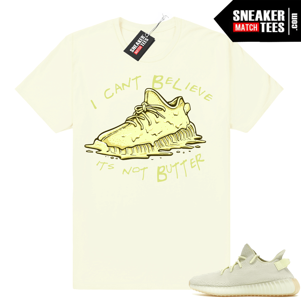 Butter Yeezy 350 Boost Shirt