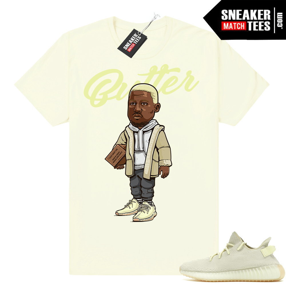 Butter Yeezy 350 shirt