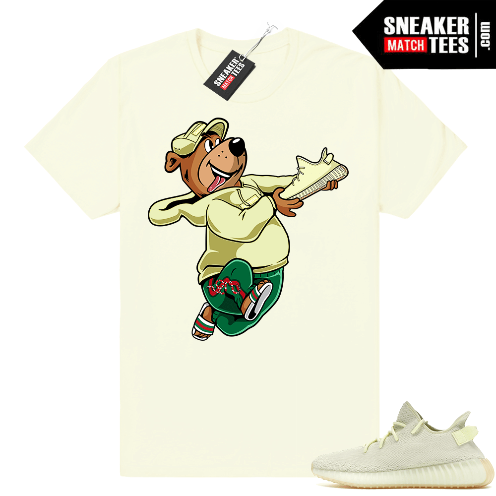 Butter Yeezy Boost matching shirt