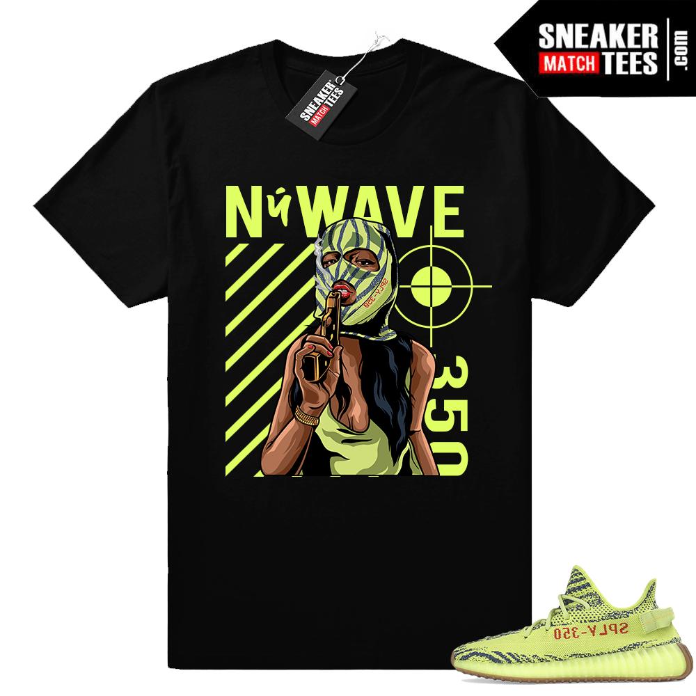 ad348283b Semi Frozen Yellow Yeezy shirt - Sneaker Match Tees