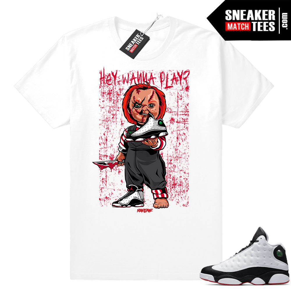 Jordan Retro 13 He Got Game shirt match