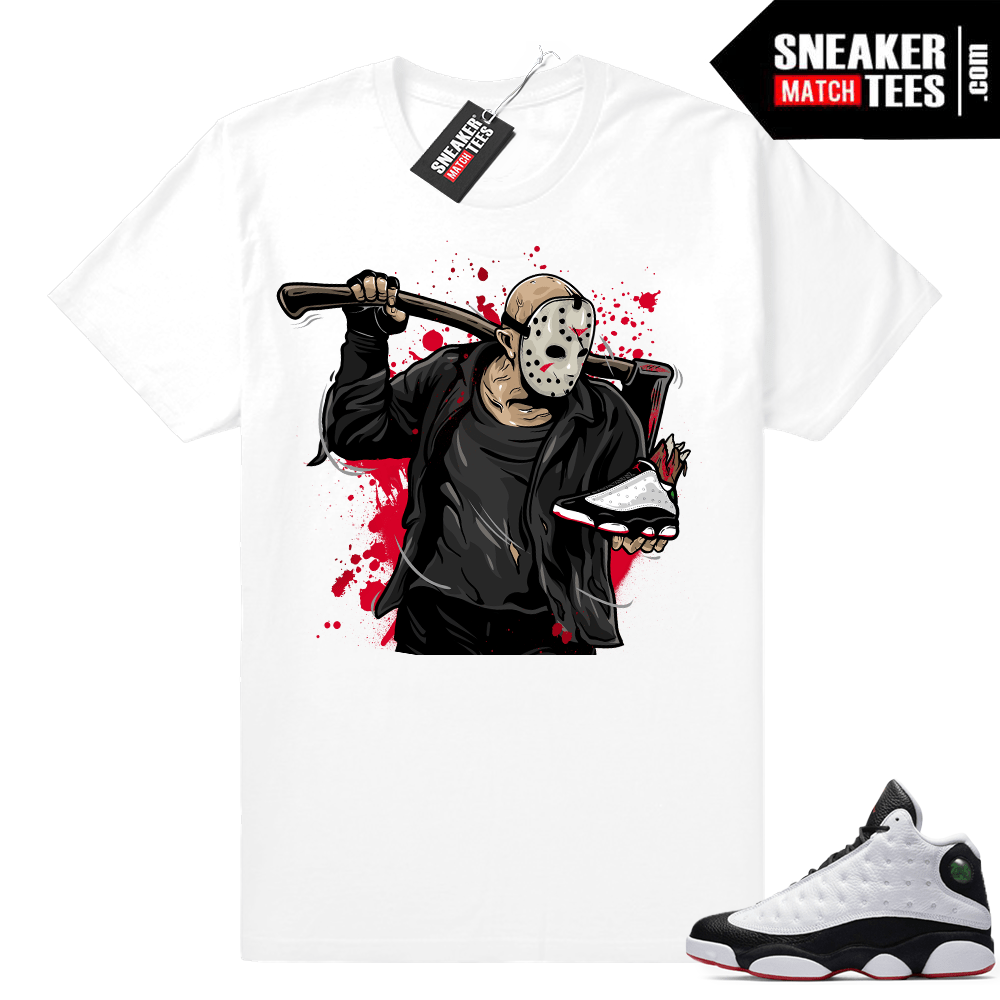 Jordan 13 shirt match He Got Game 13