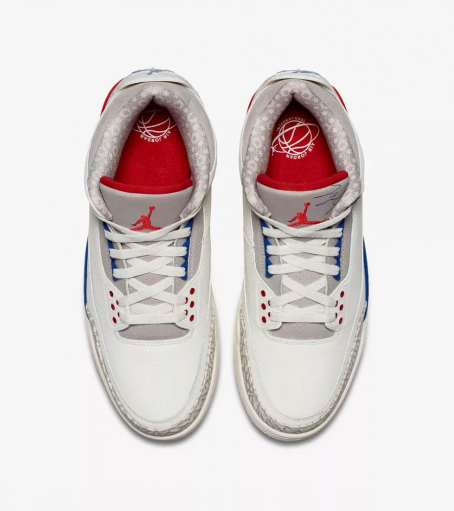 sports shoes da3c0 4c2d1 Jordan 3 International Flight sneaker tees matching outfits