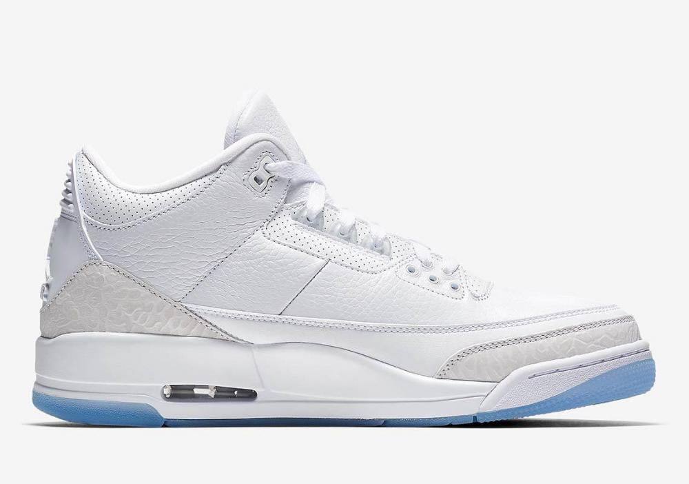 568a2a6f45a98f Jordan 3 Pure White sneaker tees matching outfits
