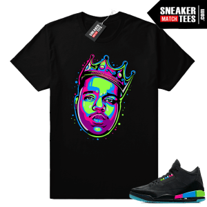 Jordan 3 Quai 54 shirts to match sneakers