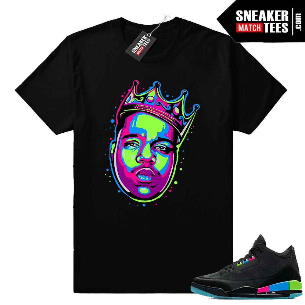 Jordan 3 Quai 54 shirts to match sneakers