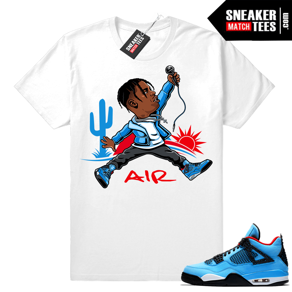 Jordan 4 Cactus Jack Air Travis Shirt