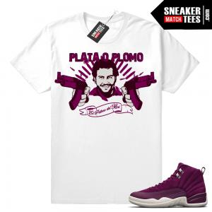 e8ebbc6c75aad Bordeaux 12 Archives | Sneaker Tees Match Air Jordan Retro Yeezy ...