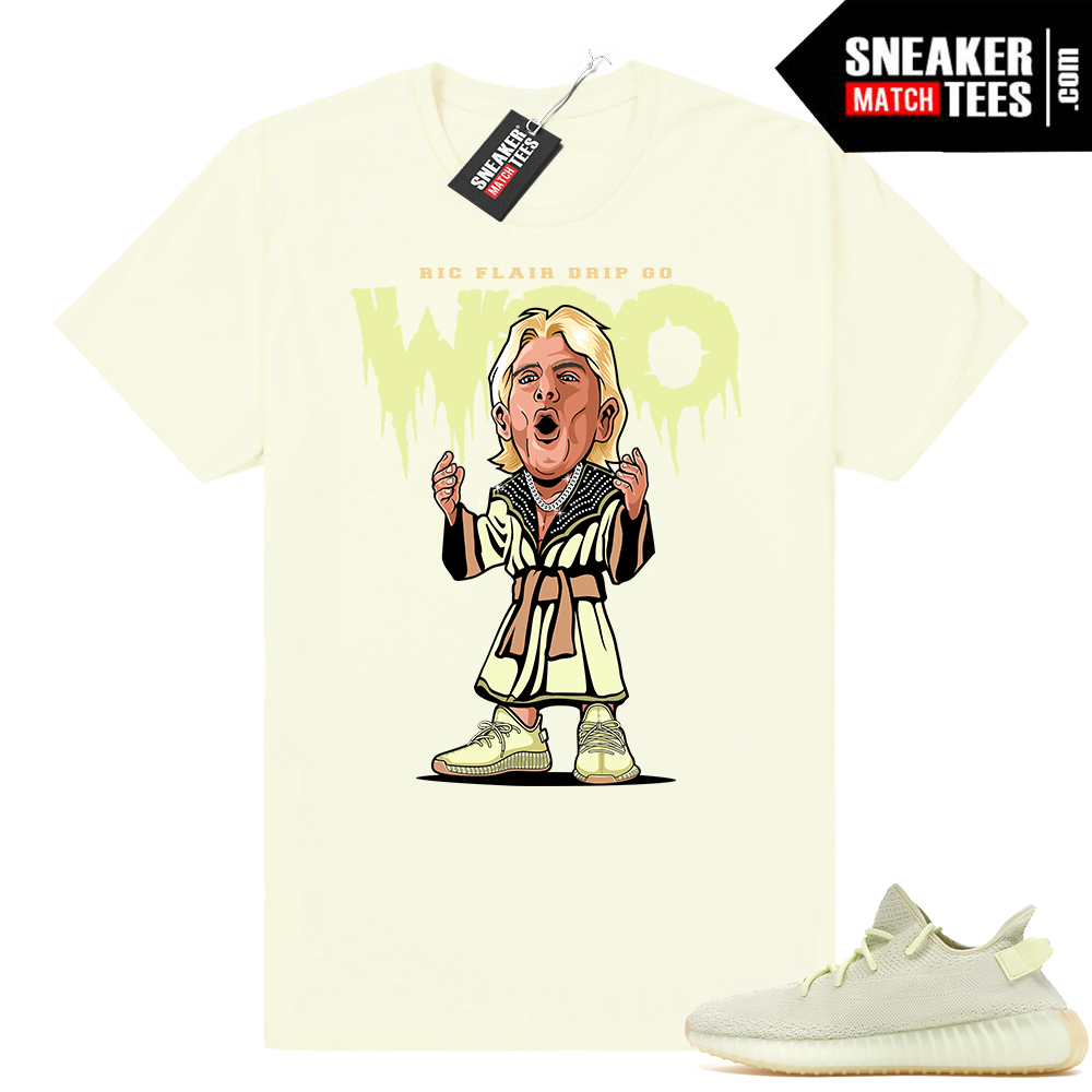 Ric Flair Drip matching Butter Yeezy shirt