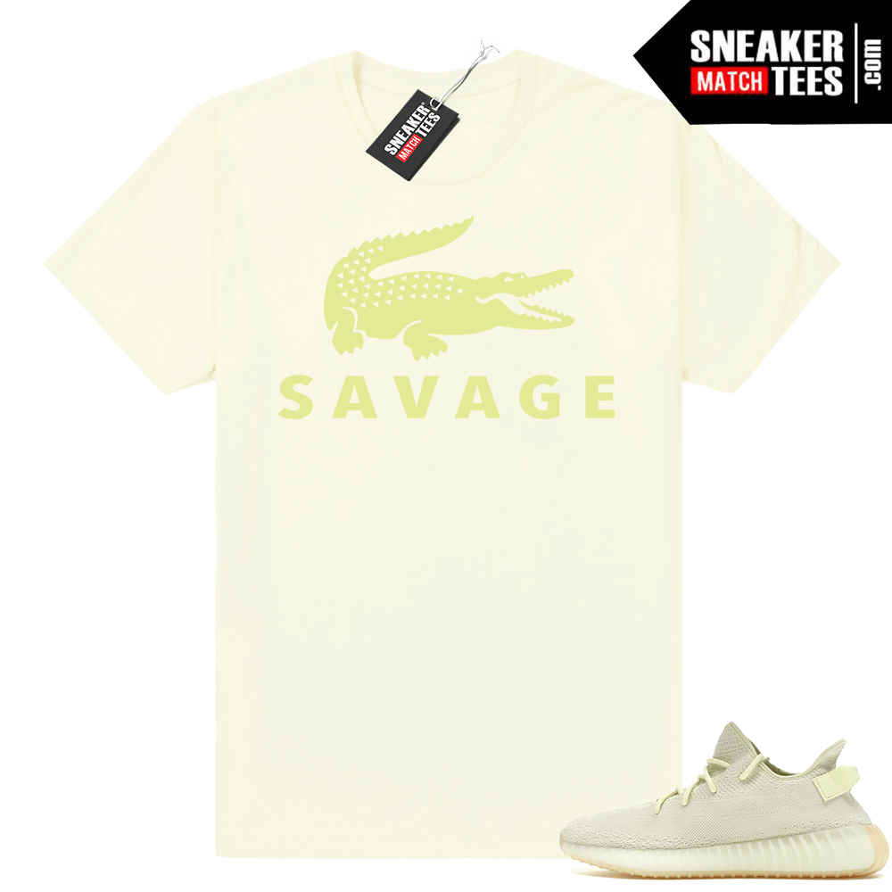 93818aa8c4b Sneaker shirt Yeezy Boost 350 Butter • Savage • Butter Tee