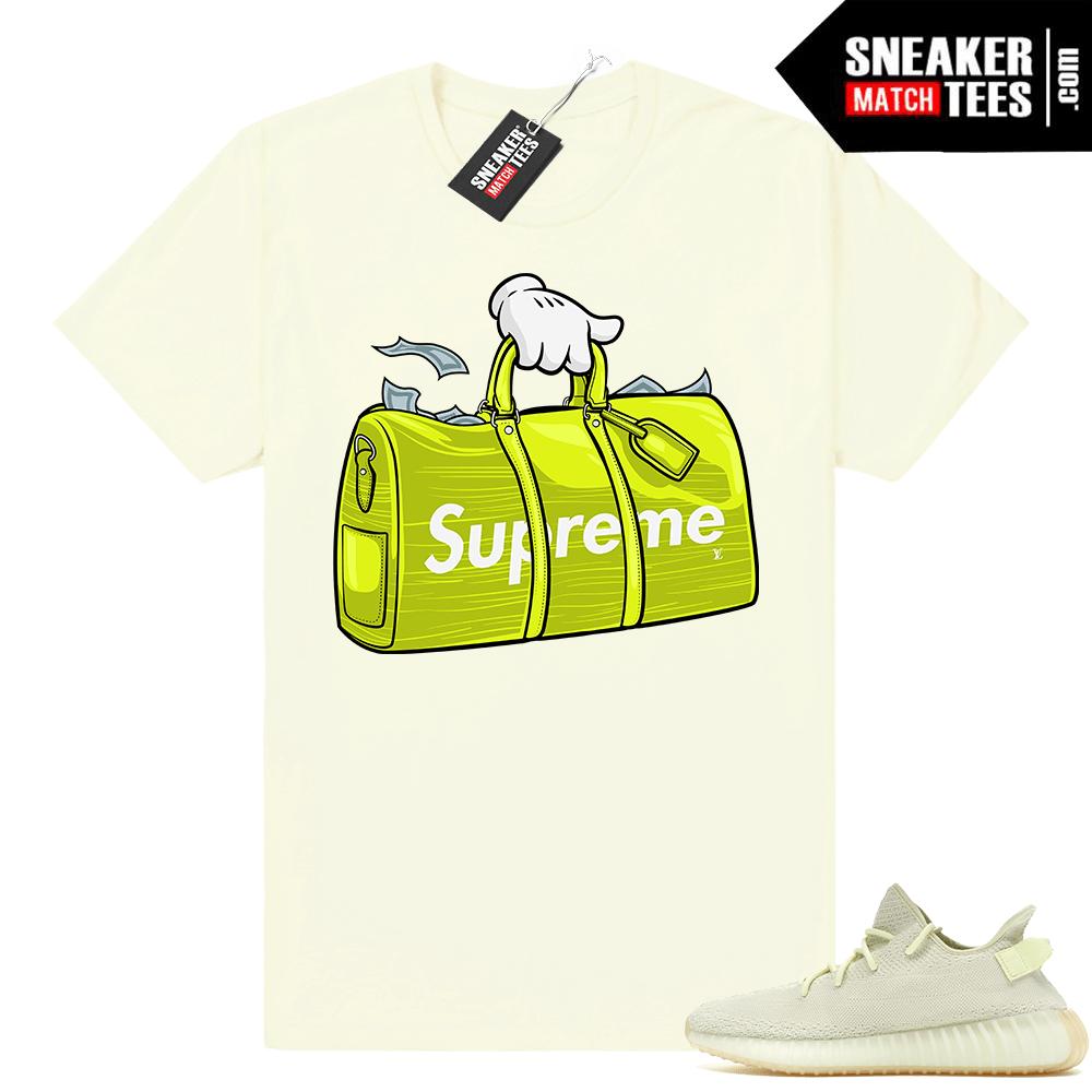 5c5372604 Sneaker tee Yeezy Boost 350 Butter - Sneaker Match Tees