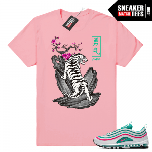 c8108360a41d37 Nike Air Max 97 South Beach Sneaker Match Tees and Outfits