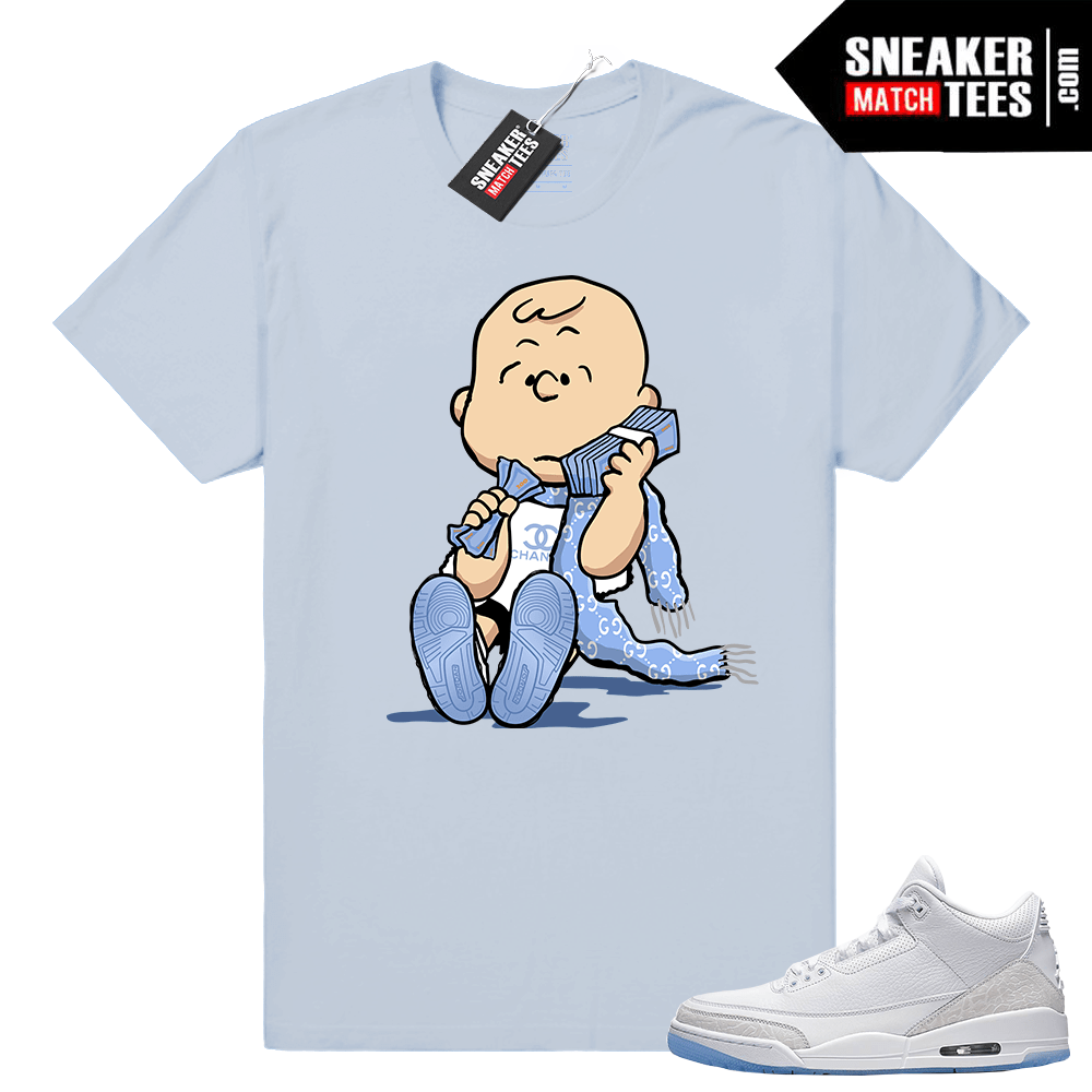White Air Jordan 3 Shirt