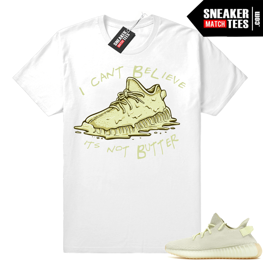 Yeezy 350 Butter t shirt