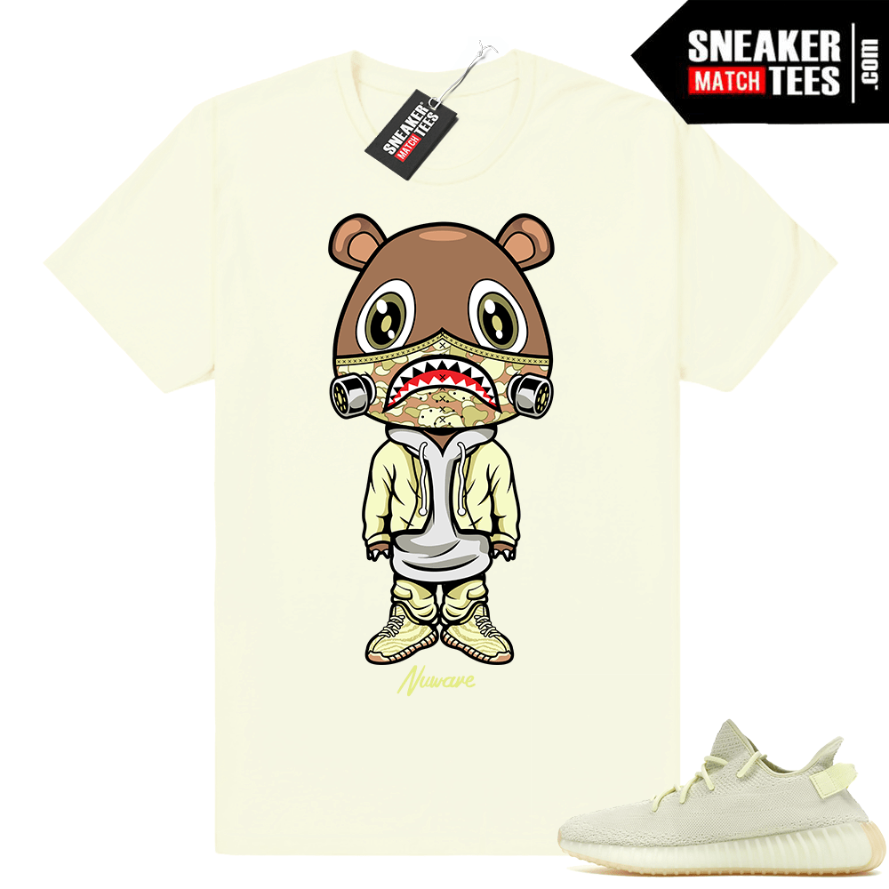 9994daf481acf Yeezy Bear Butter 350 Boost shirt - Sneaker Match Tees