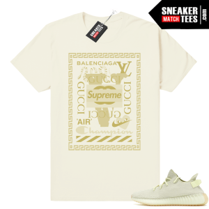 Yeezy Boost 350 Butter Luxury Mashup shirt