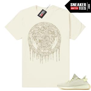 Yeezy Boost 350 Butter Medusa Camo Shirt
